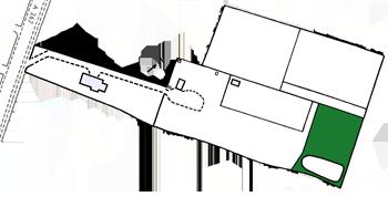 Scocus Barn - Woodland bushcraft feature i