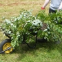 Wheelbarrow full of cuttings