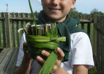 Wild wood pen pot making